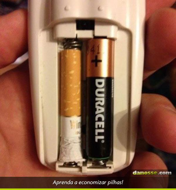 Economizando pilhas!