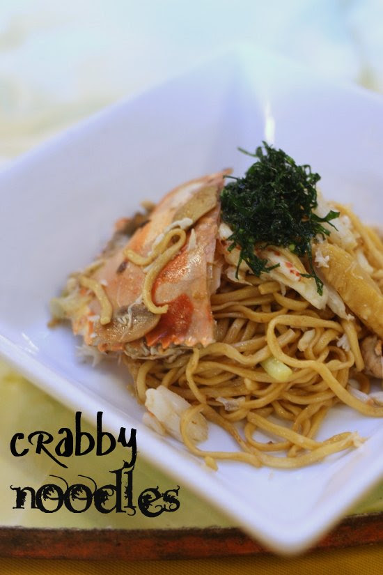 crab fried yee mee