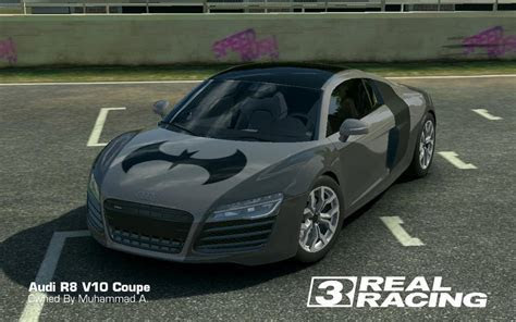 Real Racing 3: Audi R8 V10 Batman Edition by akays1991 on DeviantArt