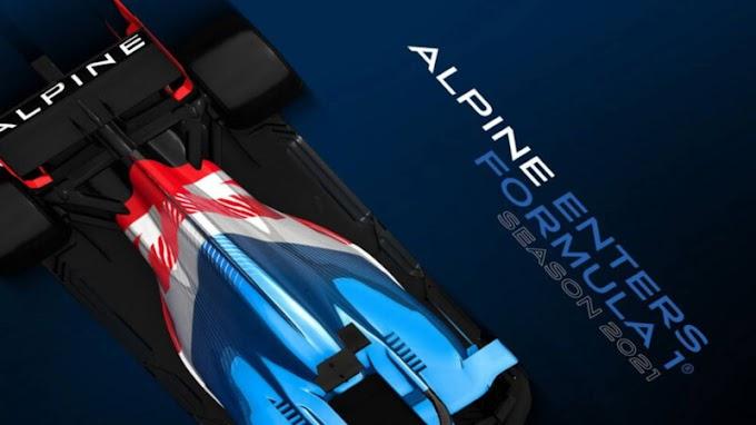 Renault se convertirá en el Alpine F1 Team a partir de la temporada 2021