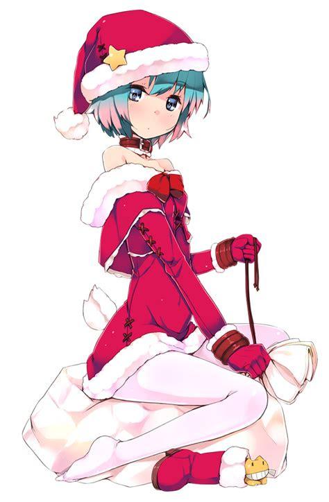 christmas anime girl render  yushiko chan  deviantart