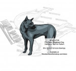 Phu Quoc Ridgeback Dog Scrollsaw Intarsia Woodworking Pattern - fee plans from WoodworkersWorkshop® Online Store - Phu Quoc Ridgeback Dog,pets,animals,dog breeds,yard art,painting wood crafts,scrollsawing patterns,drawings,plywood,plywoodworking plans,woodworkers projects,workshop blueprints