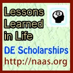 Lessons Learned in Life Scholarships for Delaware students