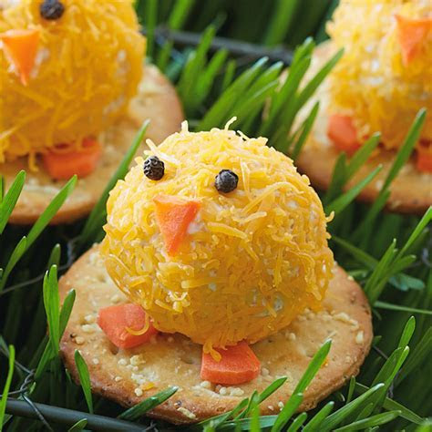 Cheesy Chicks Mini Cheese Balls Recipe   Hallmark Ideas