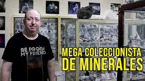 Mega coleccionistas - Eduardo Jawerbaum - Colección de minerales, fosiles y meteoritos