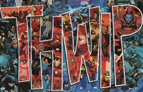 PowerUpCollage by Upcycled Comics