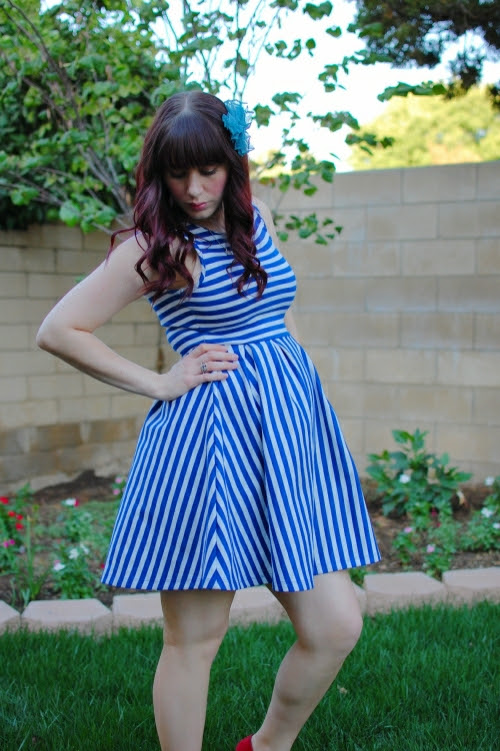 bluestripedress7