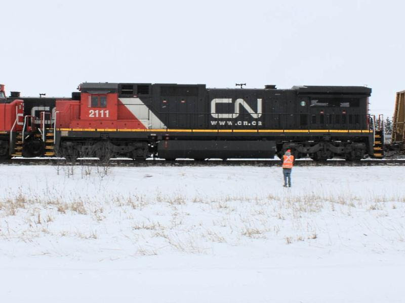 CN 2111 near Winnipeg