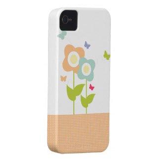 Butterflies & Flowers iPhone Case casemate_case