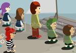 People Crossing Puzzle