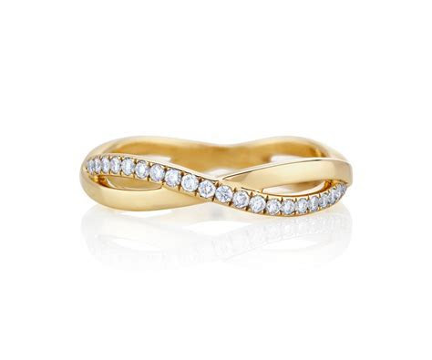 Infinity Yellow Gold Band J1FU07Z00Y   De Beers
