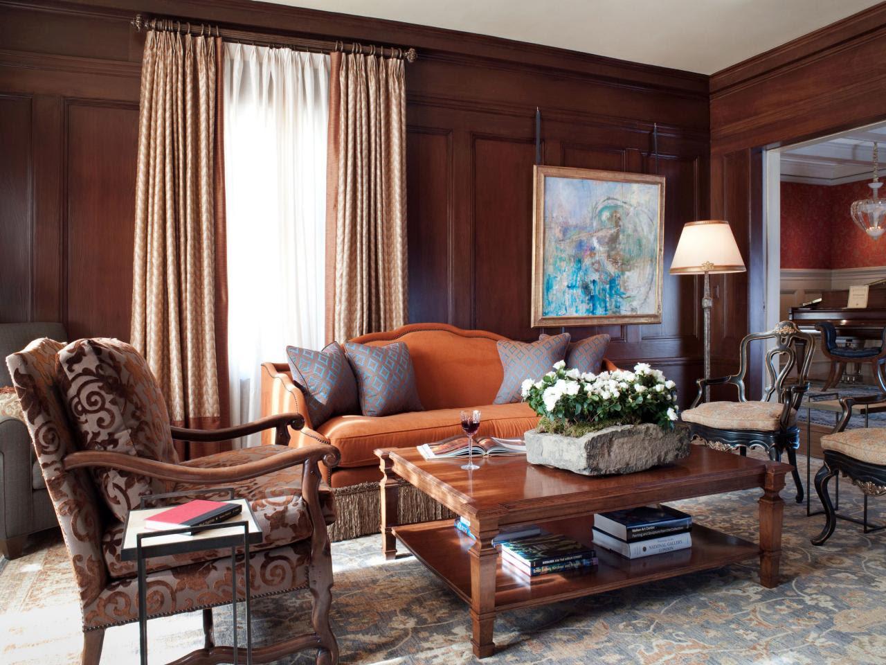 Warm and Welcoming Living Room | Kathy Geissler Best | HGTV