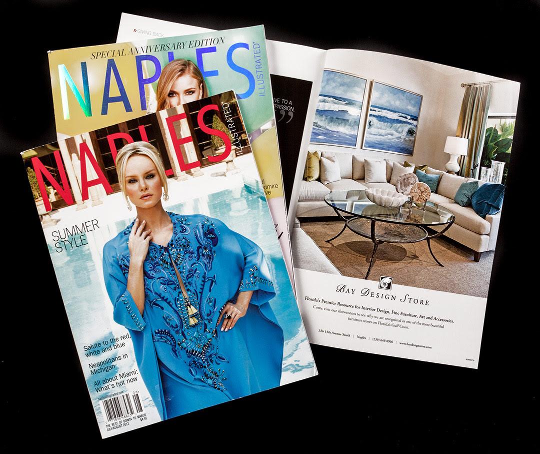 Bay Design Store Magazine Ads Bidlack Creative Group