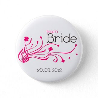 Team Bride Button button