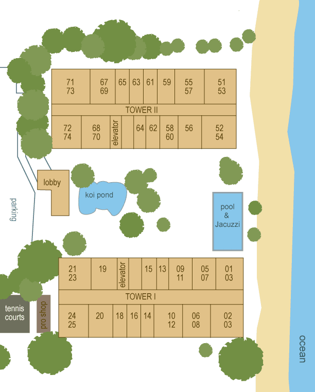 Kaanapali Beach Club Floor Plan.Beach Club Villas Floor ...