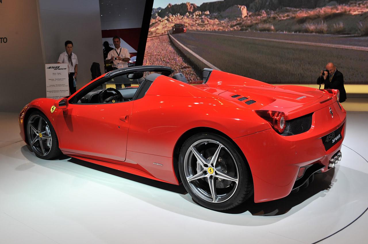 Ferrari Announces Price Of The 458 Italia Spider