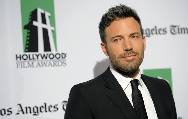 """FILE - In this Oct. 22, 2012 file photo, Ben Affleck, director and a cast member in """"Argo,"""" poses at the 16th Annual Hollywood Film Awards Gala in Beverly Hi..."""