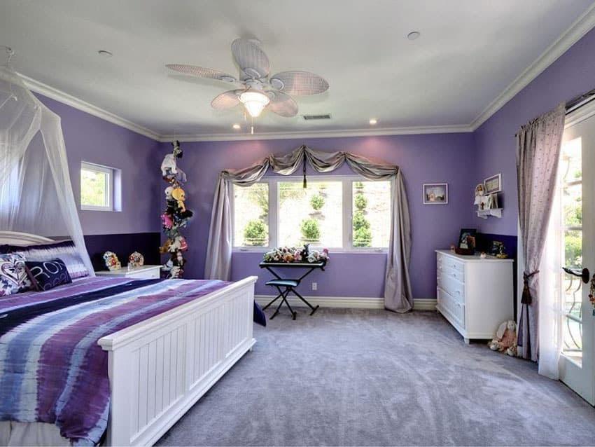 25 Gorgeous Purple Bedroom Ideas - Designing Idea