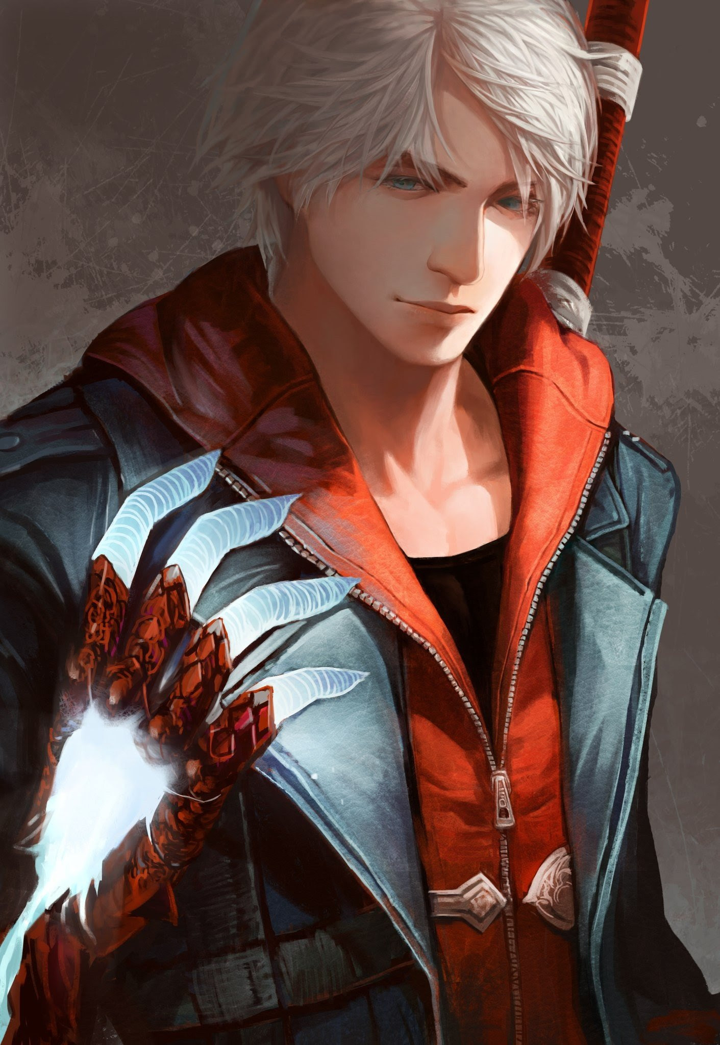 Devil May Cry Nero Character Devil May Cry 4 Wallpapers Hd
