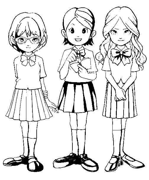 Coloring Page Inazuma Eleven 2