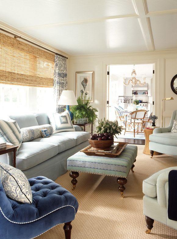 Light blue living room | Home Decor | Pinterest