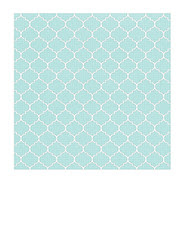 7a Light turquoise Dotted Moroccan tile LARGE SCALE - 7x7 inch