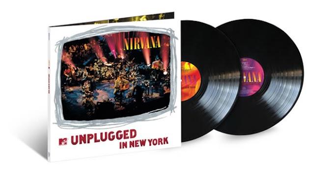 Edición ampliada en vinilo de Unplugged in New York de Nirvana