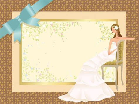 Wedding Concept Powerpoint Templates   Beauty & Fashion
