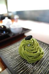 抹茶チーズモンブラン Sadeu 岩田屋