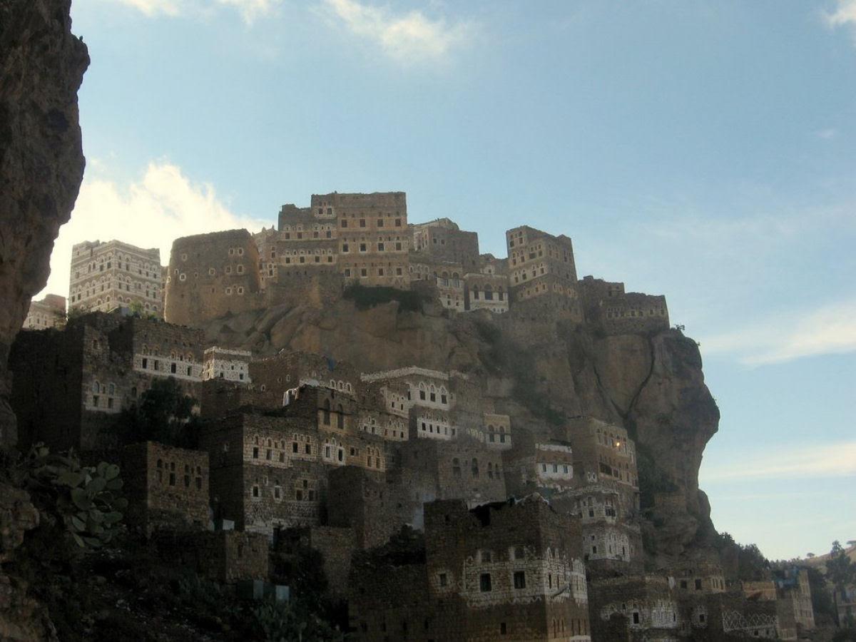 Al Hajjarah, a cidade da Idade Média com edifícios de vários andares 10