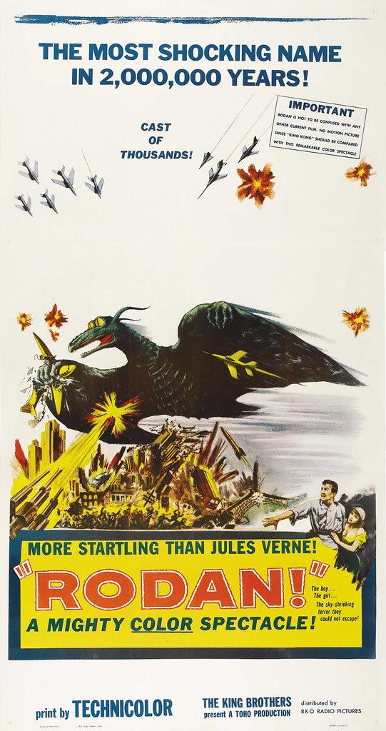 Rodan! The Flying Monster (Toho/ DCA, 1957)