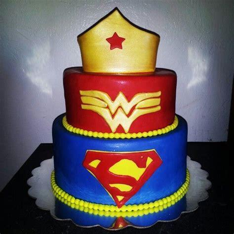 superhero, super man, wonder woman cake   cakes i love