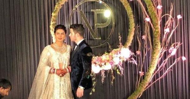 Priyanka And Nick Spells Royalty At Their Delhi Wedding Reception