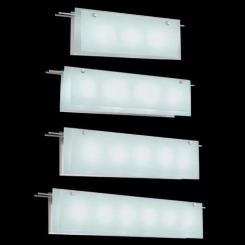 Suspended Glass Bath Bar by Sonneman Lighting - contemporary