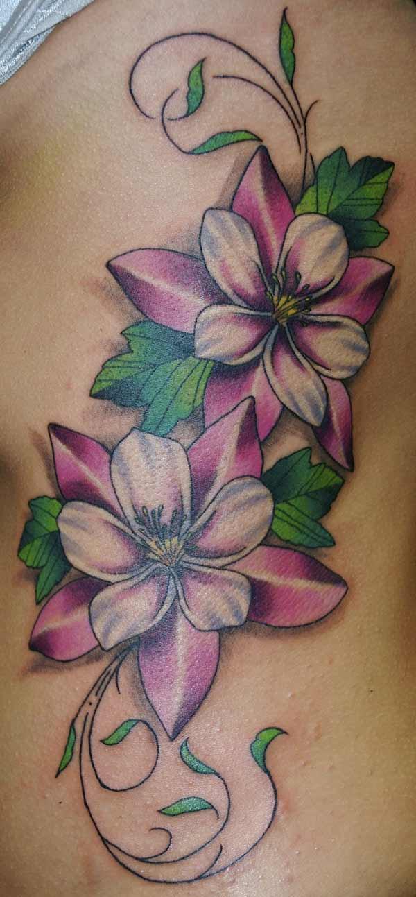 Jonat Tattoo Designs Of Vines And Flowers