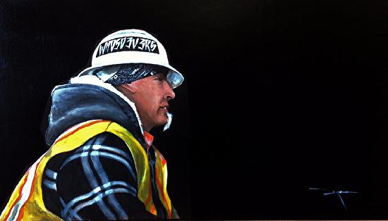 Who So Evers by Duke Windsor Acrylic ~ 20 x 30