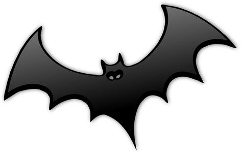 kelelawar hitam dracula gambar vektor gratis  pixabay