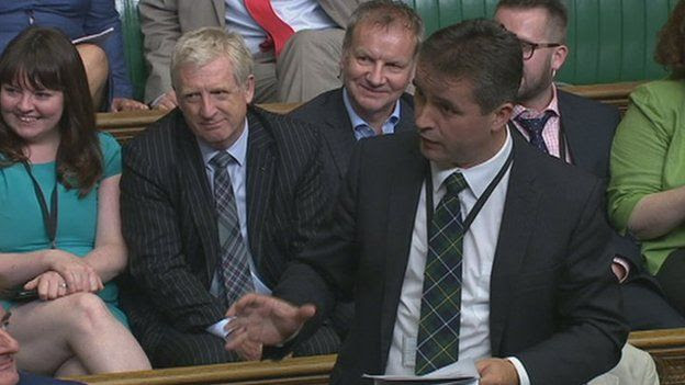 Angus MacNeil in Commons