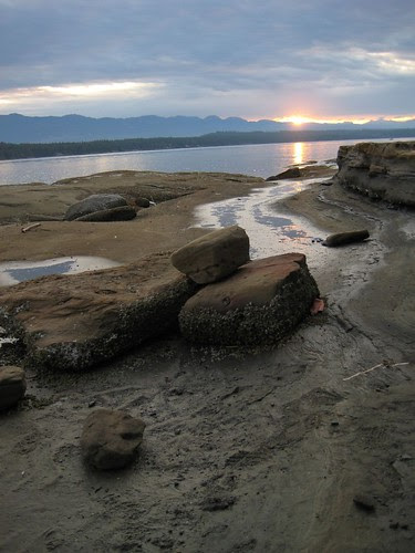 Ford's cove sunset, Hornby Island, B.C.