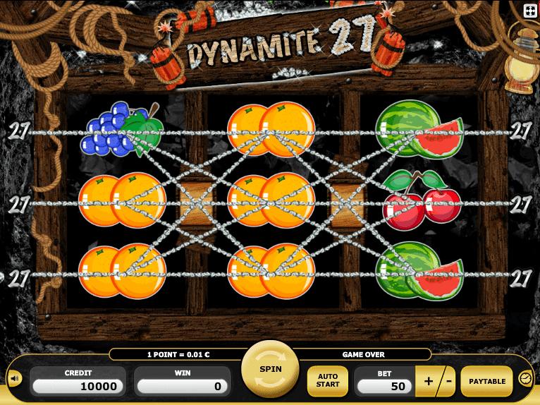 Money dynamite 27 slot machine online kajot test