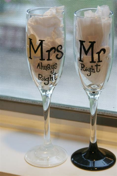 17 Best ideas about Wedding Toasting Glasses on Pinterest