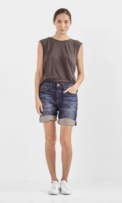 Current/Elliott The West Coast Charmer Denim Shorts