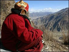 Monje tibetano
