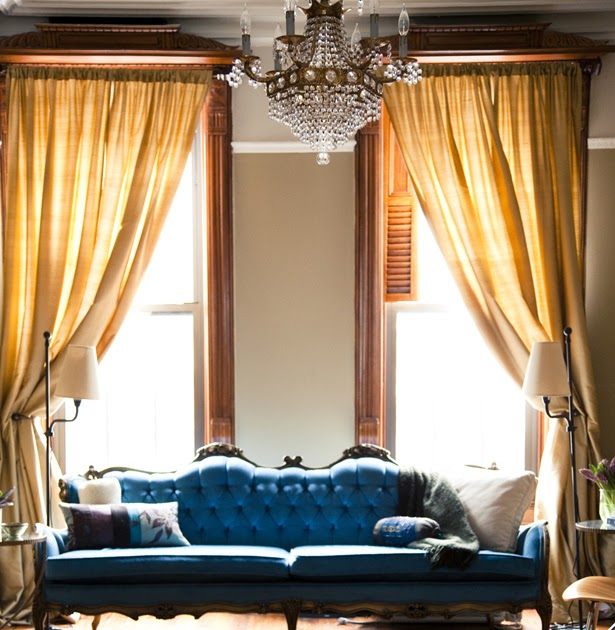 Brownstone Decorating Ideas: Streets Are Runways: Decorating Ideas: Brownstone In Brooklyn