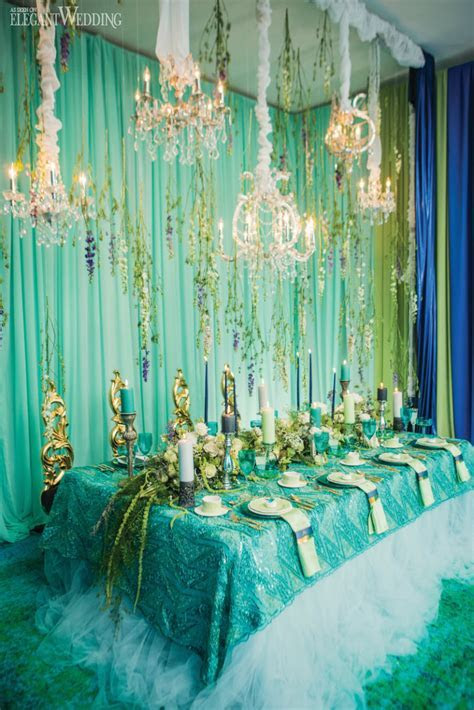 Under The Sea Mermaid Inspired Wedding Theme