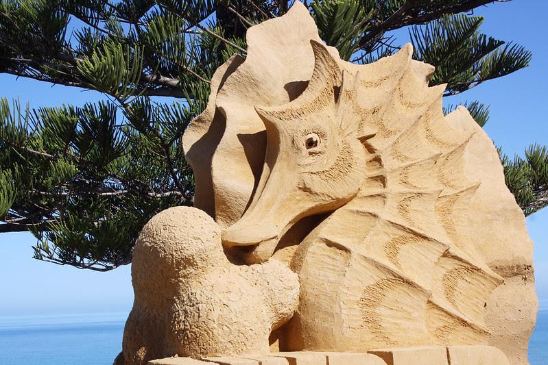 Sculptures at Christies Beach