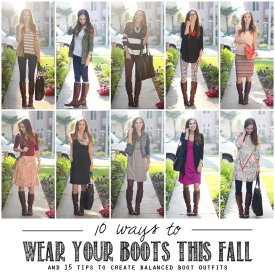 10+Ways+to+Wear+Your+Boots+This+Fall#fallintoautumn