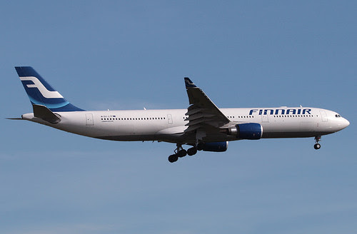 FINNAIR, AIRBUS A330 (A330-300), OH-LTP, at JFK, New York, USA. Seating