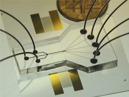 Biochip acústico abre caminho para tricorder