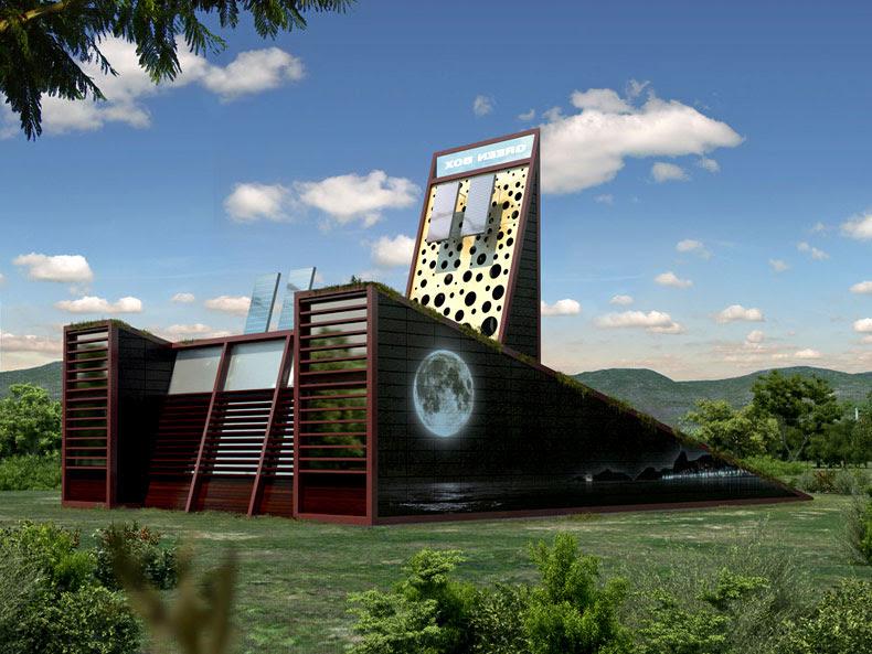 Vivienda-Jardín-Sostenible,Luis-De-Garrido, arquitectura, diseño, casas, reciclaje, vivienda-sustentable